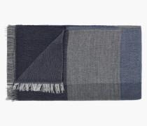 Schal aus Woll Mix navy