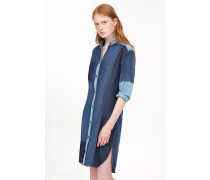 Patchwork Denim Kleid