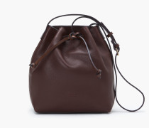 Bucket Bag bordeaux