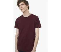 Basic T-Shirt deep wine