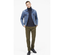 Clifton Slim Cordhose shadow green