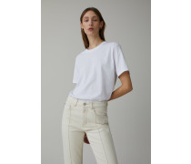 Basic T-Shirt aus Biobaumwolle white