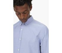 Hemd mit Streifen blue print