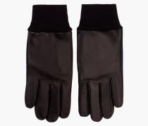 Handschuhe aus Leder Mix navy