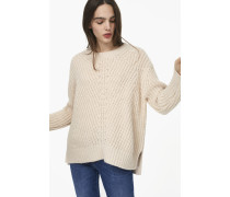 Pullover aus Royal Baby Alpaka light champagne