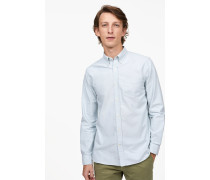 Oxford Button Down Hemd pale turquoise
