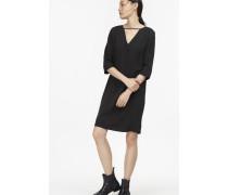 Kleid aus fließendem Lyocell black