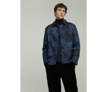 Printed Twill Jacket