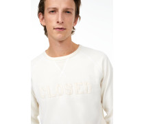 Sweatshirt mit  Schriftzug vanilla