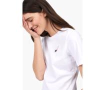 T-Shirt aus leichtem Jersey white