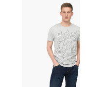 T-Shirt – designed for  by Faust light grey melange