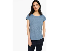 T-Shirt aus Melange Jersey stormy sea
