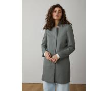 Pori Mantel aus Baumwoll Twill