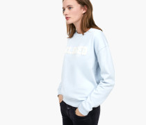 Sweatshirt mit -Logo ice blue