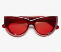 x VIU Sonnenbrille THE OPTIMISTE pomegranate