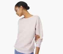 Sweatshirt aus Viskose Mix rosy sky