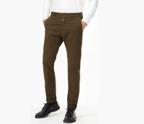 Clifton Slim Stretch Chino shadow green