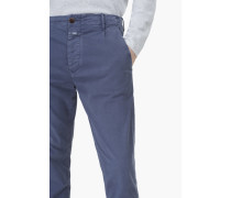 Atelier Stretched Pima Chino storm blue