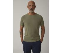 Knitted T-Shirt soft khaki