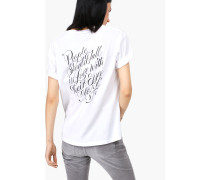 T-Shirt mit Print – designed for  by Faust white