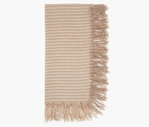 Gestreifter Schal sand