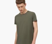 T-Shirt aus Pima Baumwolle guerilla green