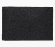 Dreiecksschal in Melange Optik dark grey melange