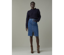 A BETTER BLUE Pencil Skirt