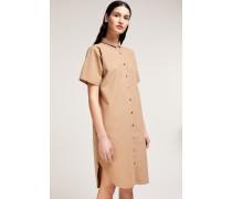 Hemdblusenkleid aus Popeline sugar cane