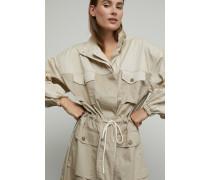 Patchwork Cargo Dress