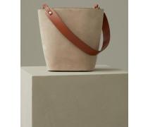 Lilja Veloursledertasche