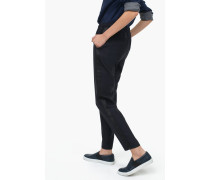 Hose Blanch aus Wolle Viskose Mix navy