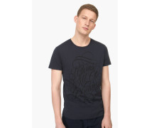 T Shirt mit Print – designed for  by Faust navy