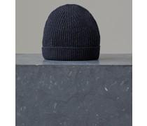 Wollmütze mit Metallic Details