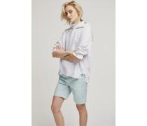 Shorts aus Baumwoll-Stretch moonglow