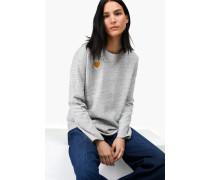 Sweatshirt  x Jupe by Jackie light grey melange
