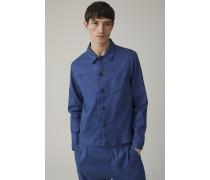 THE  JEAN Worker Jacket fading indigo