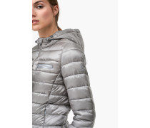 Steppjacke Peak in gewaschener Optik slate grey