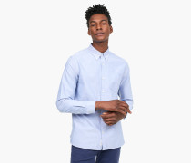 Oxford Button Down Hemd pool blue