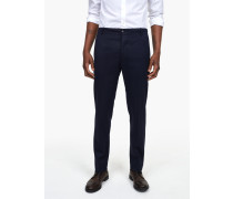 Atelier Tapered Wollhose navy