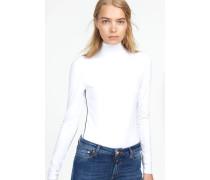 Langarmshirt aus Viskose white
