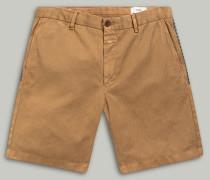 Chino Shorts mit Stickerei