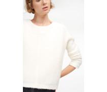Pullover aus leichtem Woll Mix blanched almond