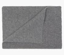 Schal im Ripp grey heather melange