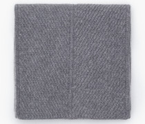 Strickschal in Melange Optik grey dust melange