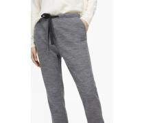 Jersey Hose Easy grey heather melange