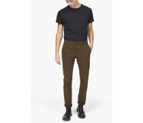 Clifton Slim Chino aus Pima Baumwolle shadow green