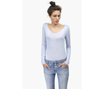 Luxury Basic Langarmshirt blue cadillac