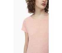 T-Shirt aus Melange Jersey almond blossoms