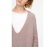 Alpaka Pullover lilac